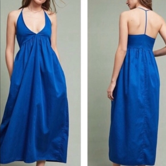 Lacausa for Anthropologie maxi dress